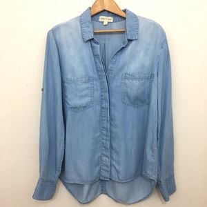 Anthropologie Tops - Anthropologie   cloth & stone chambray top size L